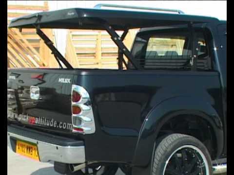 TOYOTA HILUX Accessoires Couvre Tonneau & Hard Top Pickup ...