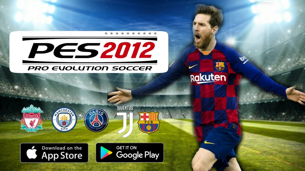 Download PES 2012 MOD PES 2020 V16 Android Offline 350MB Apk+Data Best Graphics.  #Smartphone #Android