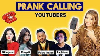 *PRANK CALLING*  Youtube FRIENDS ☎️ *Gone Too Funny* | SAMREEN ALI