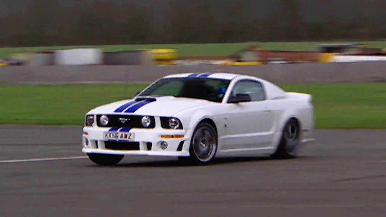 Mustang gt500 power lap the stig top gear