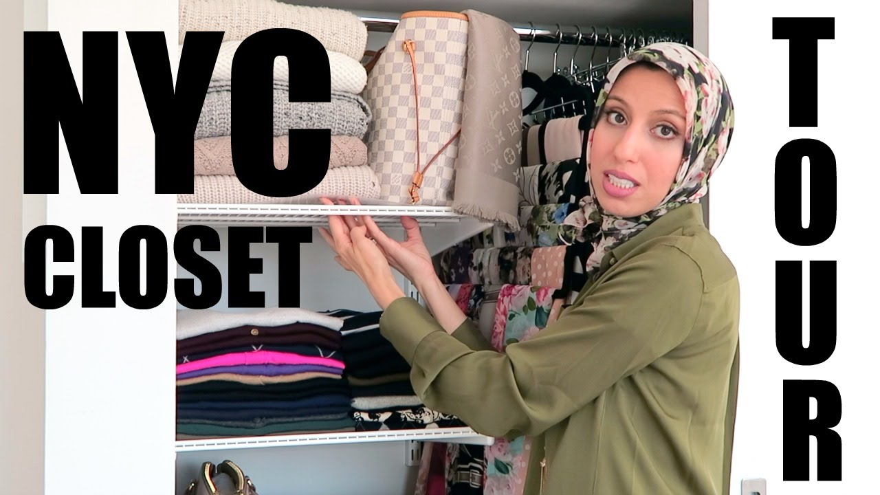 Merveilleux My NYC Closet Tour (Perfect For DIY Small Closets!)   YouTube