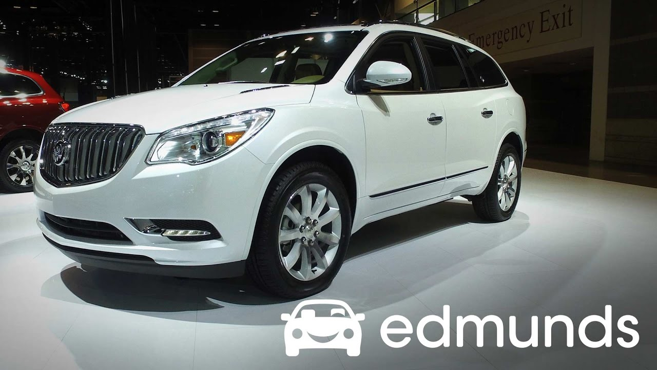 2017 buick enclave review features rundown edmunds youtube. Black Bedroom Furniture Sets. Home Design Ideas
