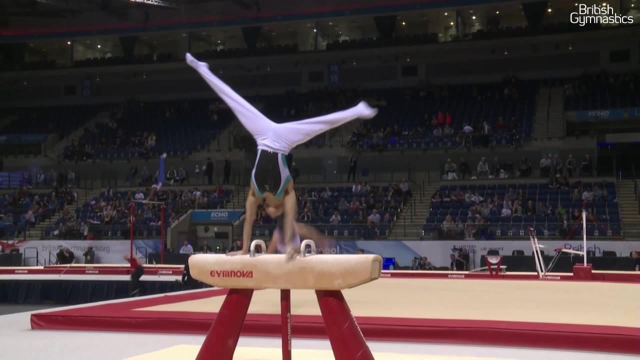 jamie lewis pommel horse 2017 british gymnastics championships men s