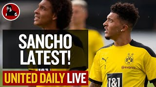 What's Going On With Sancho?!   Man Utd Latest News