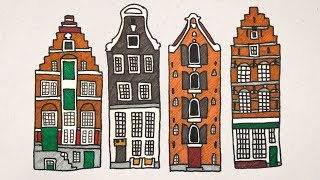The Houses Of Amsterdam