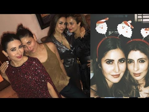 Kareena Kapoor , Katrina Kaif Celebrate Christmas Together with Bollywood Actresses together