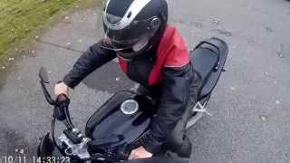 Обучение езде на мотоцикле
