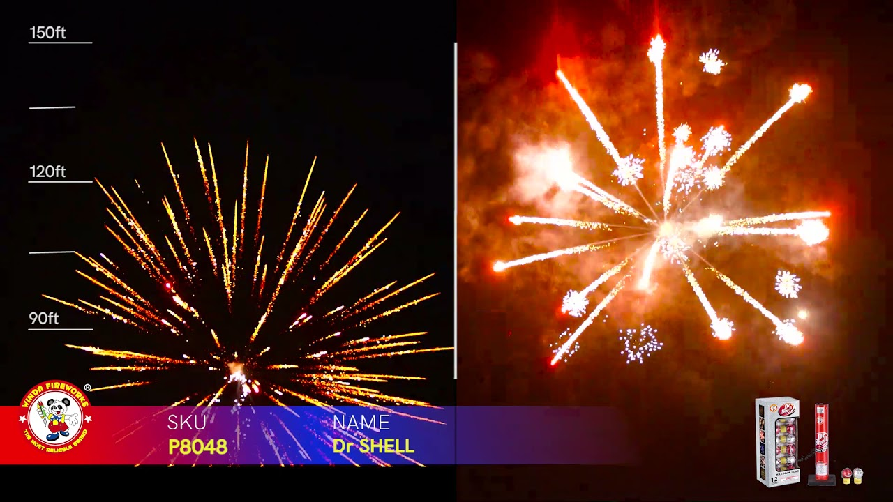 Dr SHELL P8048 WINDA FIREWORKS 2022 NEW ITEM