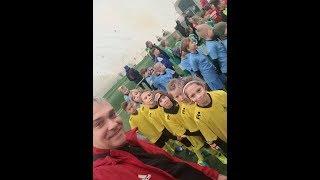 CZ9-Fc Yellow Junior z Kudełkiem w Legnicy pod balonem -Juventus Legnica -Dekoracja -Decathlon Cup
