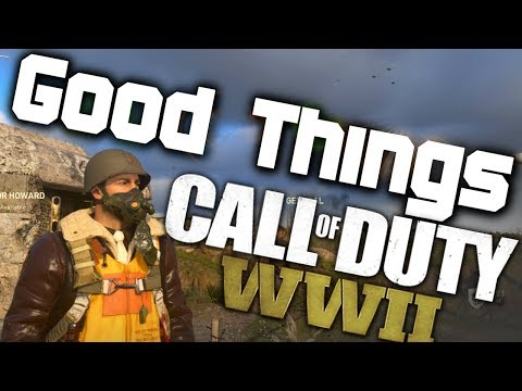 Discussing the Good Things in Call of Duty: WWII Multiplayer! (But, I just end up ranting)