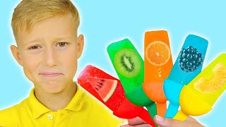 Fruit Ice Cream Popsicle Song for Kids