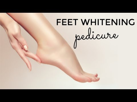 Feet Whitening Pedicure At Home With All Natural Ingredients