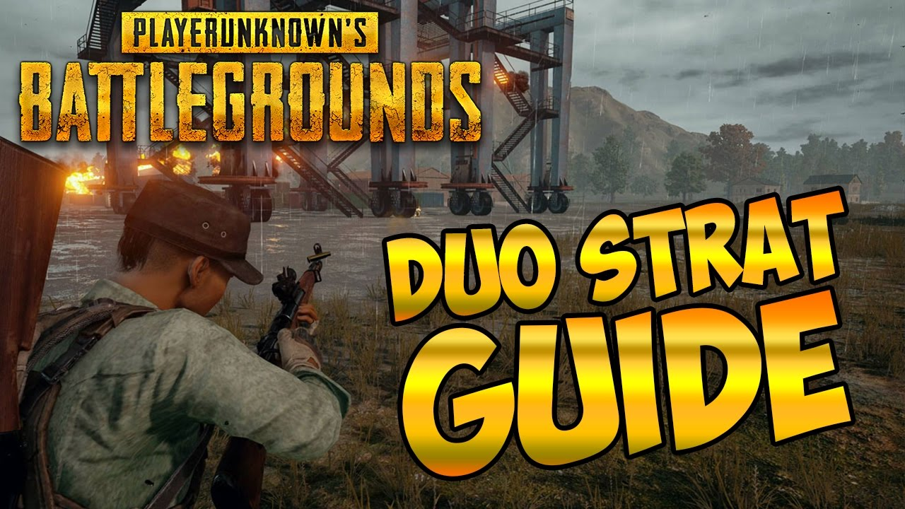 Playerunknown S Battlegrounds Maps Loot Maps Pictures: DUO STRATEGY GUIDE FOR PLAYERUNKNOWNS BATTLEGROUNDS: DUO