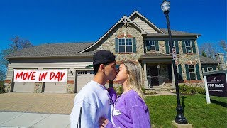 WE MOVED IN TOGETHER! (new house)