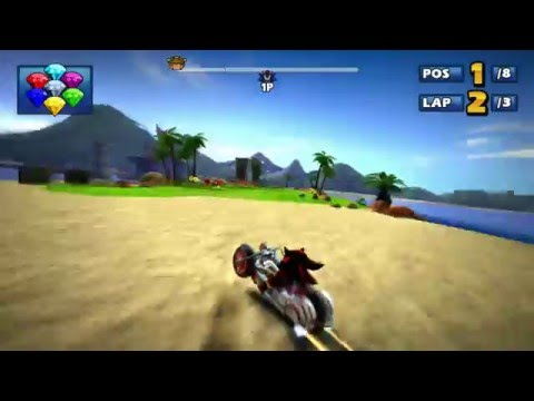 Sonic & Sega All-Star Racing - Coolest glitch shortcut you can try