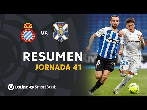 Espanyol Tenerife Goals And Highlights