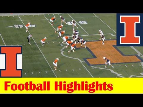 Team Orange vs Team Blue, 2021 Illinois Football Spring Game Highlights