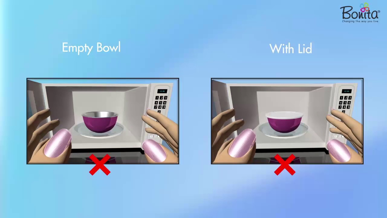 Microwave Safe Stainless Steel Bowls