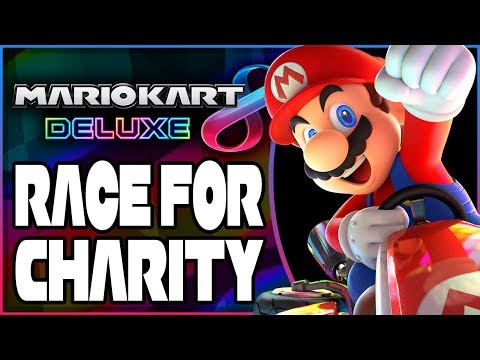 Mario Kart 8 Deluxe - Race For Charity: Fundraiser for Children's Miracle Network! [🔴LIVE]