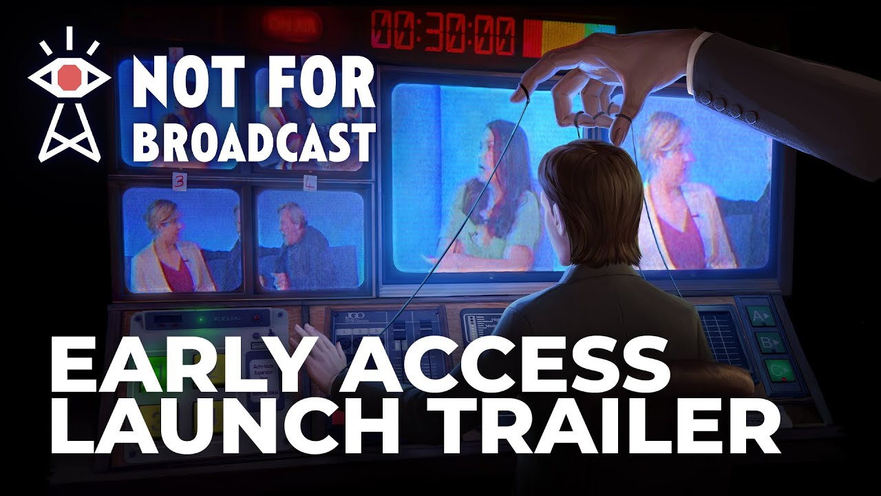 Not For Broadcast Mixes 80s Newsroom Satire With Papers Please