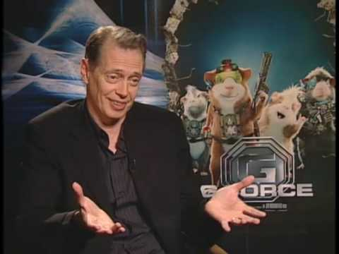 "Steve Buscemi Interview ""G-Force"""