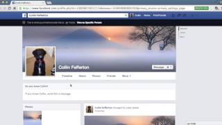 Facebook Privacy Settings Advice Video(In this video tutorial, we explore Facebook's settings, explaining what each feature does and showing users how to configure their profile and ensure privacy., 2014-04-25T14:16:57.000Z)
