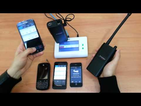 Azetti Radio over IP (RoIP) Gateway for real-time PTT communication