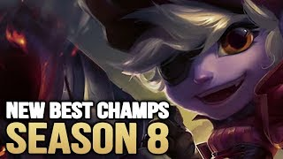 New Best Champions in Patch 8.1 SEASON 8 for Climbing in EVERY ROLE (League of Legends)