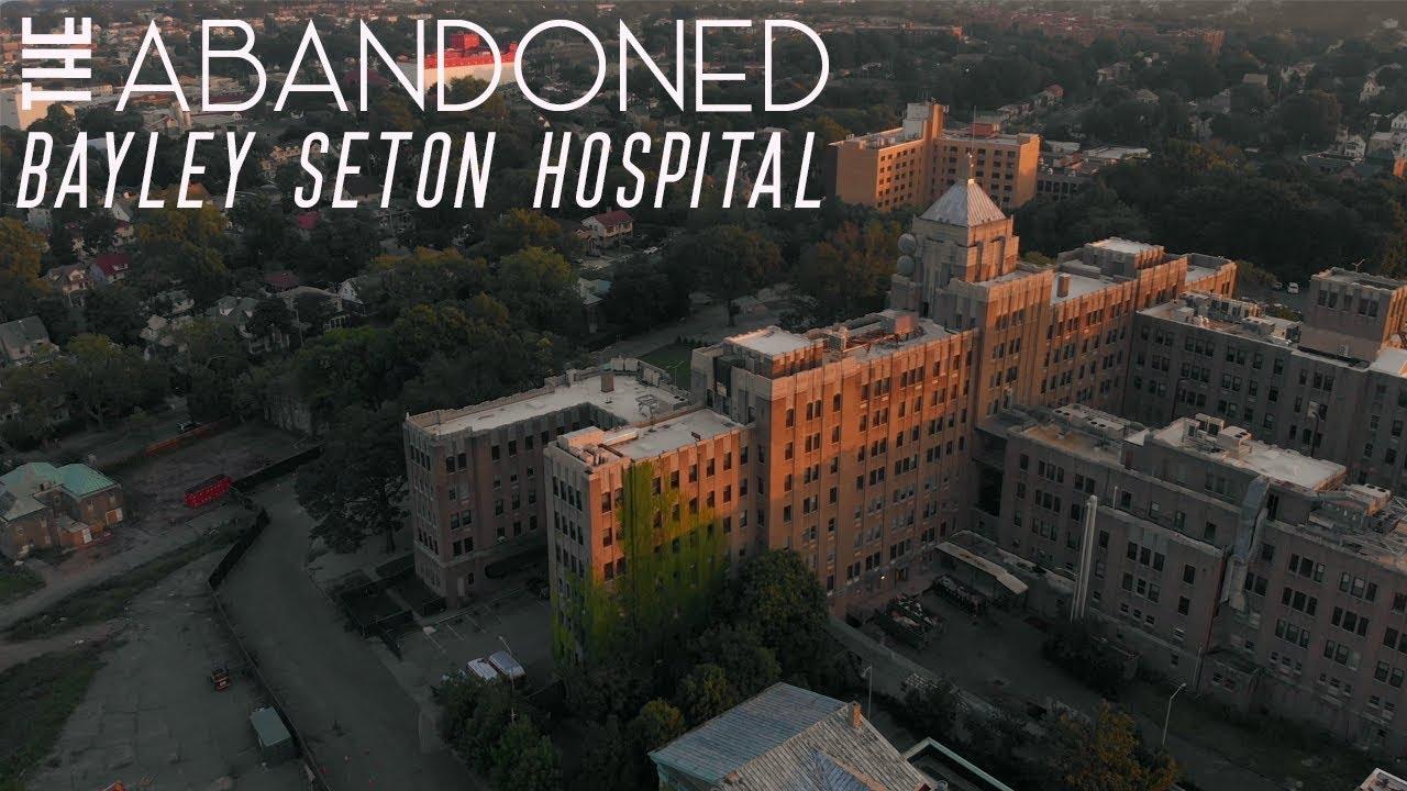 Abandoned Bayley Seton Hospital | Aerial Film