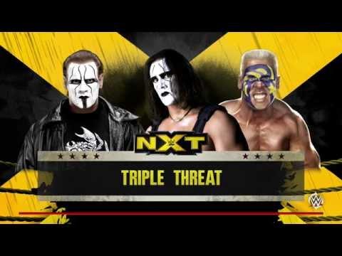 WWE 2K16 - Sting vs Sting vs Sting
