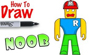 How to Draw the Noob in Roblox