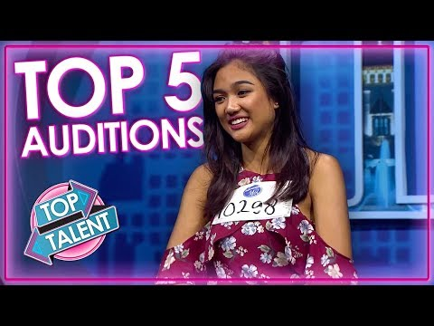 TOP 5 Auditions on Indonesian Idol 2018 | Top Talent