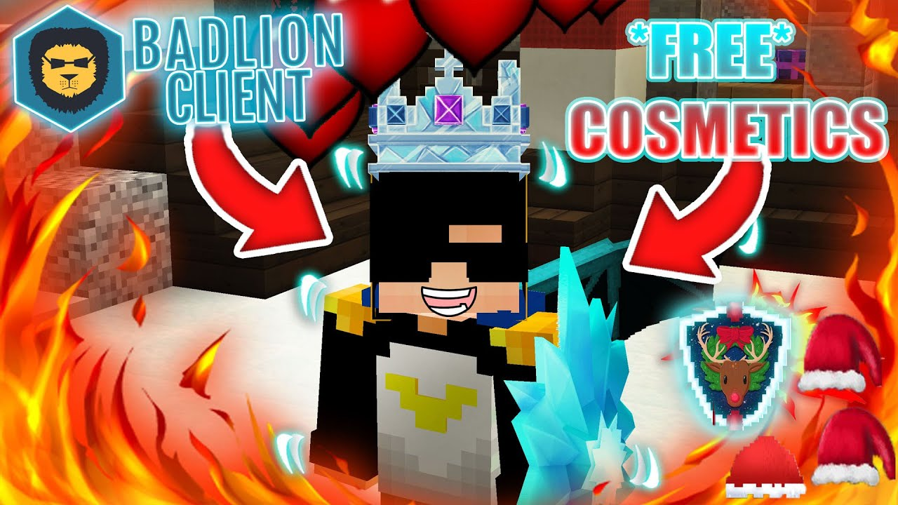 Minecraft Badlion Client Free Cosmetics Dragon Wings Badlion Capes Youtube