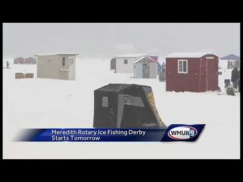 Meredith Rotary Ice Fishing Derby Begins Saturday