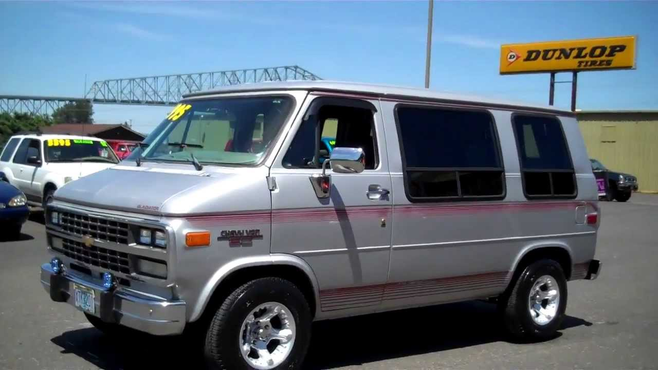 All Chevy 1978 chevy van for sale : 1995 CHEVY SHORTY VAN SOLD!! - YouTube