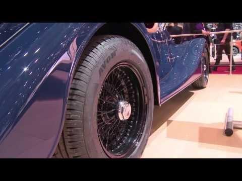 Morgan Plus 4 Premiere at Geneva Auto Show 2014 | AutoMotoTV