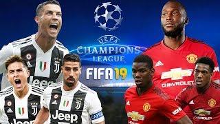 FIFA 19 | ยูเวนตุส VS แมนยู | ศึกยูฟ่า แชมเปี้ยนส์ ลีก 7 พ.ย. 2018 !!