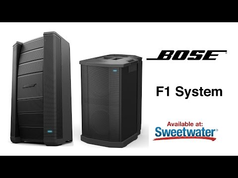Bose F1 Loudspeaker System Overview by Sweetwater