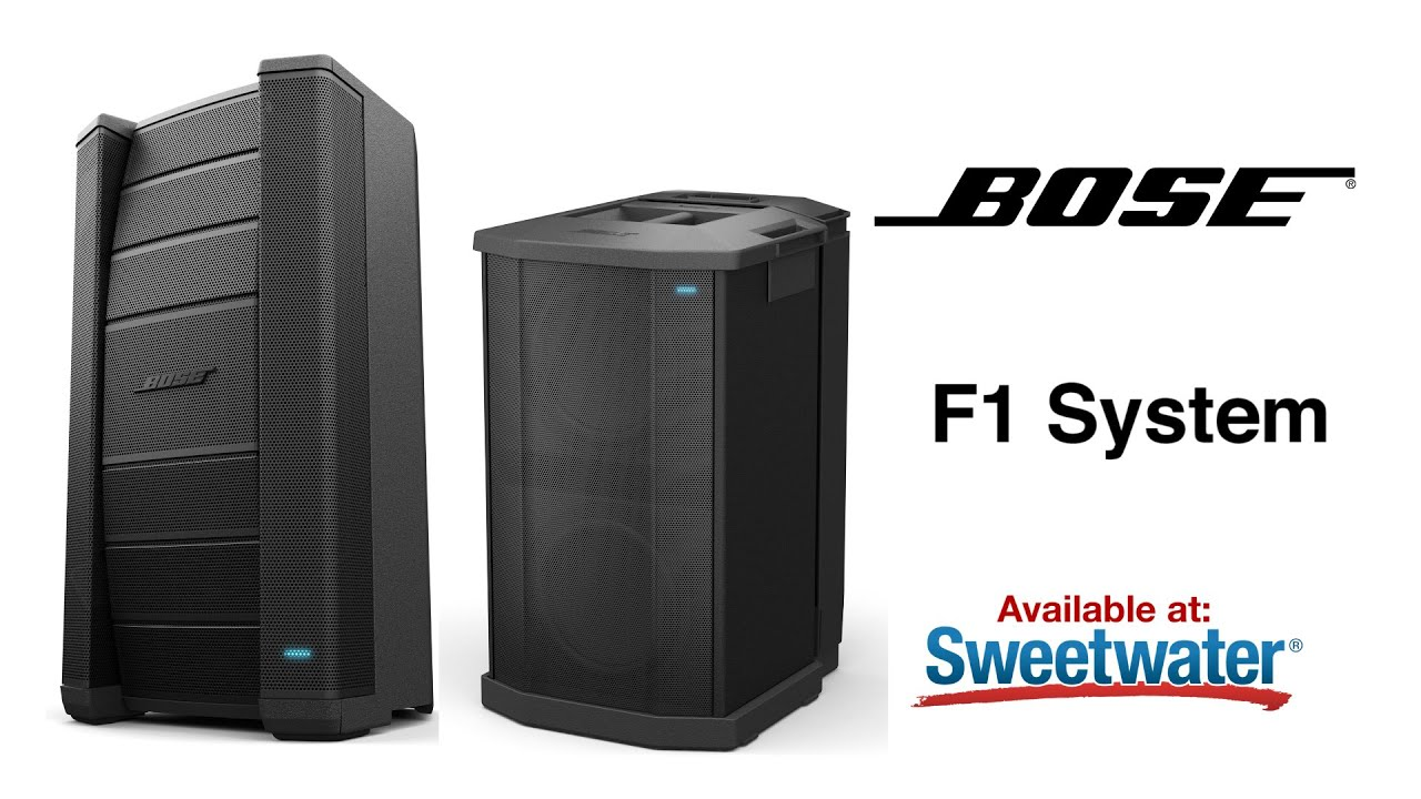 bose f1 loudspeaker system overview by sweetwater doovi. Black Bedroom Furniture Sets. Home Design Ideas