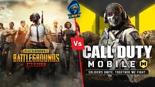 Pubg Mobile VS Call of Duty Mobile Comparison. Which one is best