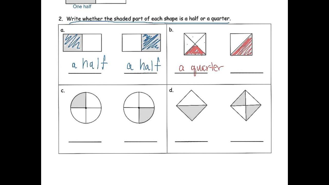Grade 1 Module 5 Lesson 9 Homework