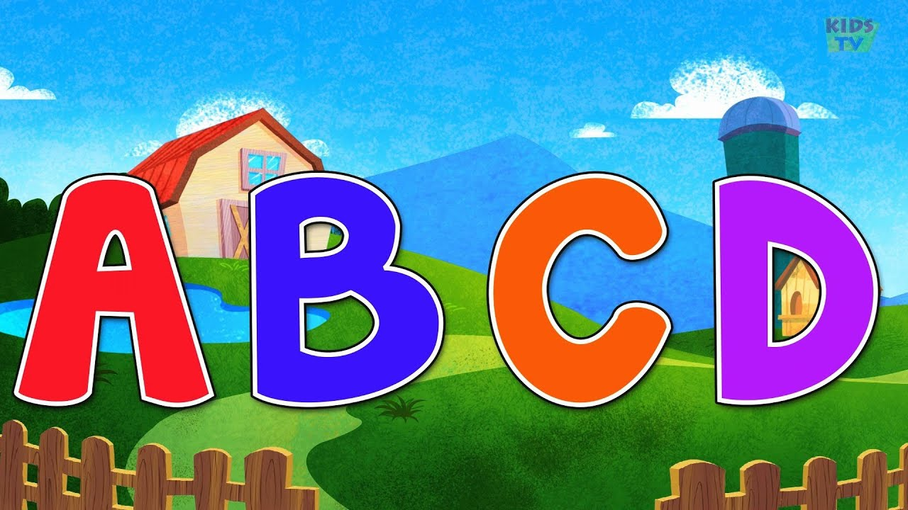 abc song Alphabets Song nursery rhymes kids tv