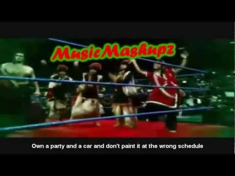 The Great Khali's Theme Song Funny Translation
