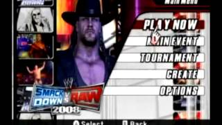 Review - WWE Smackdown Vs. RAW 2008 (Wii)