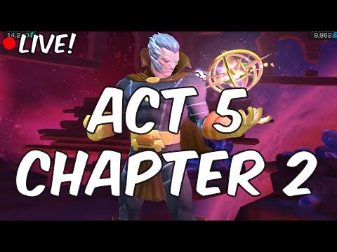 Act 5 Chapter 2 LIVE - The Collector SHALL FALL! - Marvel Contest Of Champions