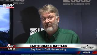 USGS briefing following earthquake that shook the Bay Area Thursday morning (FNN)