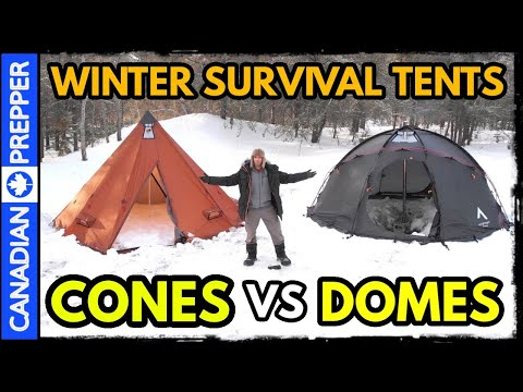 Winter Hot Tents for Bug Out Survival: A Must Have Item