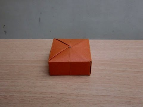 how to make a paper gift box easy
