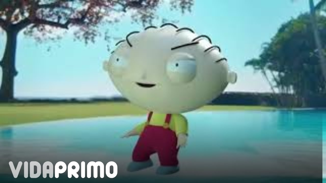 "Stewie Griffin Dance Challenge | Afro B X Ozuna - Drogba ""Joanna"" Global Latin Version"