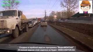 Подбил и решил скрыться   ДТП в Новосибирске 10 04 2015